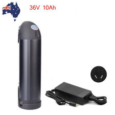 36V 10Ah Black Bottle lithium E-Bike Battery Pack Charger 350W Electric Bicycle