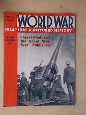 WORLD WAR 1914-1918 A PICTURED HISTORY No 5 WWI MAGAZINE - RUSSIA IN PRUSSIA