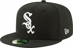 Chicago White Sox New Era 5950 AC Perf Team Baseball Cap