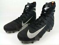 Nike Vapor Untouchable PRO 3 Elite VPR Cleats Black Silver AH7408-010 SZ 10.5