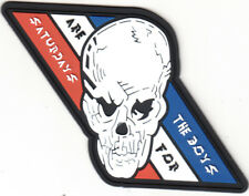VFA-2 BOUNTY HUNTERS THE BOYS ARE FOR SATURDAYS PVC (SOFT RUBBER) PATCH