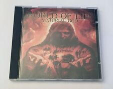 WORLD OF LIES - Material God - CD • 2002 Death Metal • Buried In Hell Records