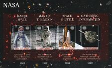 NASA Space Stamp Sheet (Astronauts/Buzz Aldrin/Moon/Shuttle/Hubble Telescope)