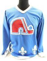 Quebec Nordiques CCM Maska Ultrafil Rare Vintage Blue Jersey men Small