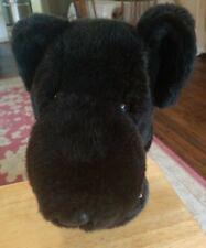 Daphne Black Lab Dog Head Plush Golf Club Driver Head Cover Good Condition