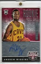 2014-15 Andrew Wiggins Totally Certified ROLL CALL AUTO RC #D 115/249 (L45)