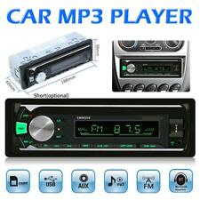 Car Stereo MP3 Player Bluetooth AUX USB Audio Copy Radio Head In Dash