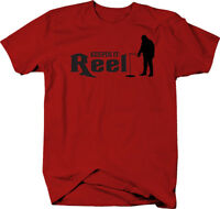Keeping it Reel Ice Fishing  Color T-Shirt