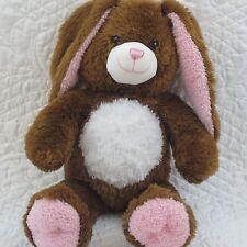 "BUILD A BEAR BUNNY RABBIT 16"" Chocolate Brown Pawfectly Huggable Stuffed  Plush"
