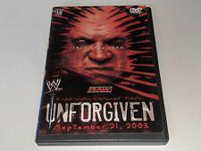 Wwe Unforgiven 2003 Wrestling Ppv Dvd Triple H v Goldberg / Shane McMahon v Kane