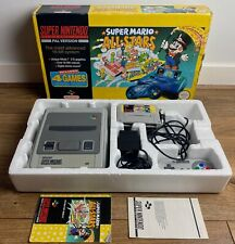 Super Nintendo Super Mario All Stars SNES Console & Game (Boxed)