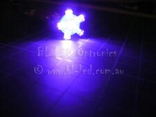 2x T10 194 168 501 6-LED UV Ultraviolet Dash Light Bulb