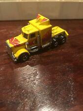 1983 Hot Wheels Long Shot Semi Tractor Cab - Yellow - HK - Mint Loose 1/64 Scale