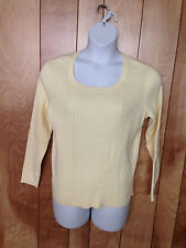 WOMEN'S FASHION BUG LONG SLEEVE KNIT TOP-SIZE: 18/20W
