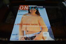 Online Knitting Magazine English Pattern Summer 2005