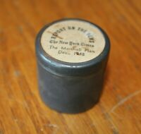 The Marshall Plan 1948 New York Times Report on News Film Canister tin Vintage