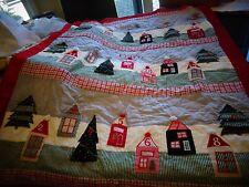 Pottery Barn Kids countdown Christmas Quilted santa  Advent Calendar mono Frary