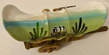 Vintage Covered Wagon Western Americana Decor