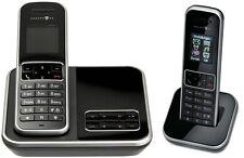 T-SINUS A405 Duo Schwarz Schnurlos Telefon mit 2 Mobilteilen Anrufbeantworter