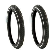 x2 Schwalbe Bicycle Tire Big Apple 50-254 14x2.00 Kevlar Guard HS338 Black Tire