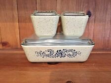 6 PIECE PYREX HOMESTEAD REFRIGERATOR DISHES