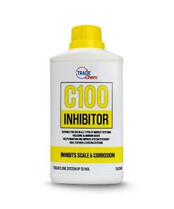 C100 Concentrated Inhibitor 500ml - Boiler Central Heating System Protector