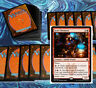 mtg RED WIZARDS DECK Magic the Gathering rares 60 cards izzet chemister akroma