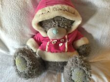"Grande 16"" Especial Novia Navidad Cumpleaños Regalo me to You Oso Rosa Abrigo"