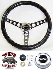 "1966 Malibu Chevelle steering wheel SS CLASSIC 14 1/2"""