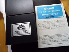 Rare Vintage Casio Digital Watch  Pro Trek PRT-41 TRIPLE SENSOR NOS TAG 2199