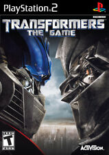 Transformers for Playstation 2 (2007 , PAL)