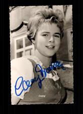 Conny Froboess Autogrammkarte Original Signiert # BC 123210