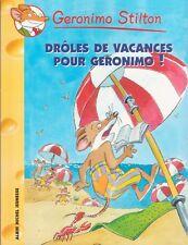 GERONIMO STILTON 20 Drôles de vacances pour Geronimo ! livre jeunesse