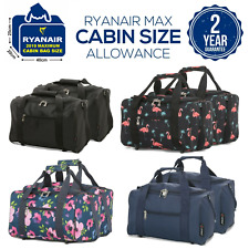 Set of 2 New 2019 Ryanair 40x20x25 Maximum Sized Cabin Carry on Holdall Bags