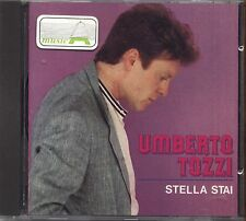UMBERTO TOZZI - Stella stai - CD USATO OTTIME CONDIZIONI