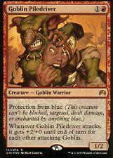 Goblin piledriver foil   nm   Magic Origins   mtg