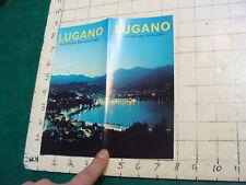 Vintage High Grade brochure: Switzerland-1975--LUGANO 12pgs