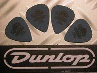 USA médiators Tortex® Jim Dunlop  Lot 4 Médiators Tortex Standard 1,0 mm Blues