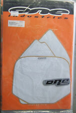One Industries MX Background Kit WHITE Yamaha YZ80 YZ 80 1993 - 2001 ALL