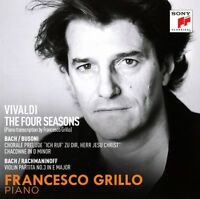 FRANCESCO GRILLO - THE FOUR SEASONS (ARR. FOR PIANO) ANTONIO VIVALDI  CD NEU