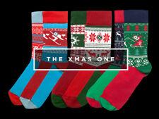 ODSX - Christmas Socks Stocking Filler - Santa Reindeer Ski - Sneaker - 41/46