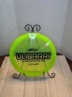 Discraft Ulibarri Raptor Tour Series Distance Driver Z Swirl Lime Green Disc