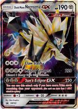 Pokemon Sun & Moon TCG Dusk Mane Necrozma GX Ultra Rare Tin Promo Card SM102