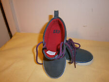 "Boys ""Gap"" High Top Sneakers, Size 10 M"