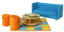 Lundby 1:18 Scale Dolls House Smaland Sofa Bed Set