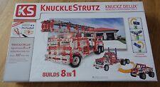 KnuckleStrutz Knuckz Delux Building Construction Toy Fire Truck Big Rig