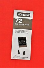 Weaver Scope Base #72 fits Browning 222, 222 magnum, 22-250, 243, 308 in SAKO