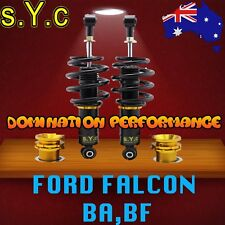FORD FALCON BA-BF SYC Rear Coilovers Only Fully Adjustable Coilover
