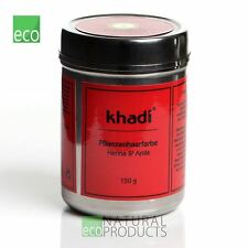 Khadi Herbal Hair Colour Henna & Amla 150g - Certified Natural Product