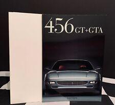 1997 FERRARI 456 GT & GTA SALES BROCHURE PROSPEKT WITH FOLDER MULTILANGUAGE RARE
